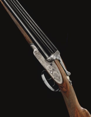 A 12-BORE SELF-OPENING SIDELOC