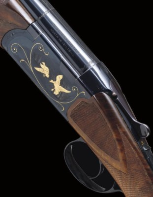 A 12-BORE OVER-AND-UNDER BOXLO