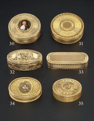 A LOUIS XV FOUR-COLOUR GOLD SN