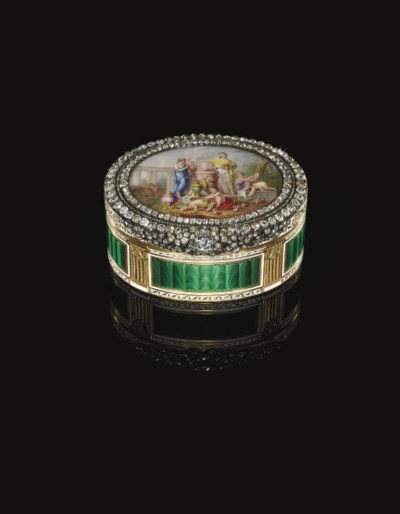 AN IMPORTANT LOUIS XV DIAMOND-