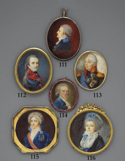 RUSSIAN SCHOOL, CIRCA 1795
