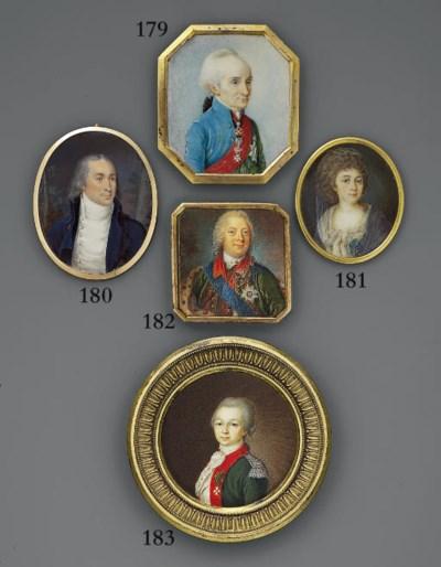 RUSSIAN SCHOOL, CIRCA 1760