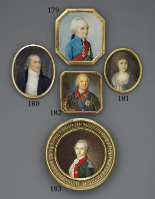 RUSSIAN SCHOOL, CIRCA 1780