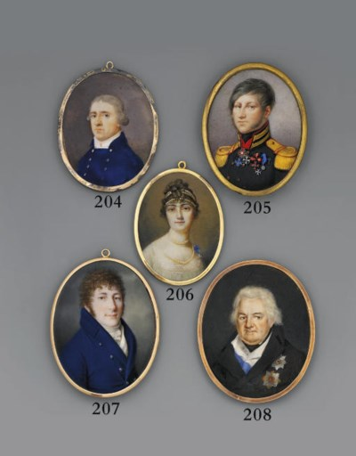 RUSSIAN SCHOOL, CIRCA 1795/180