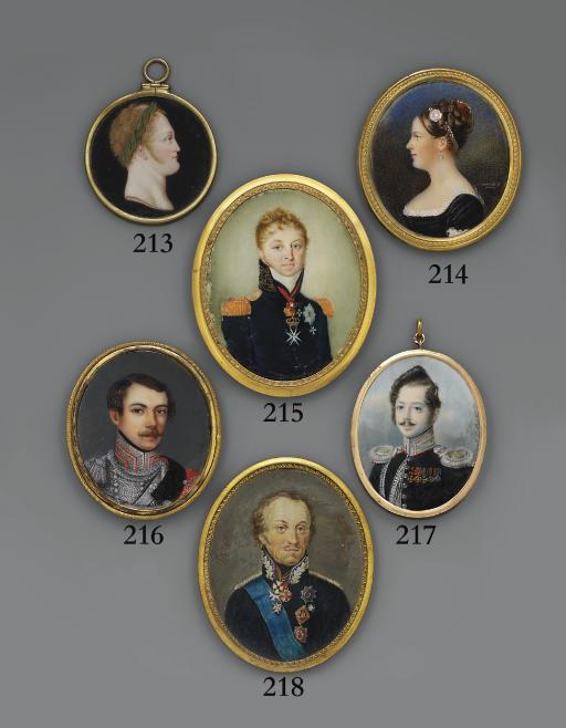 RUSSIAN SCHOOL, CIRCA 1840