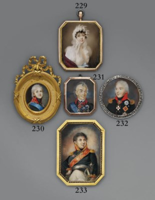 RUSSIAN SCHOOL, CIRCA 1809