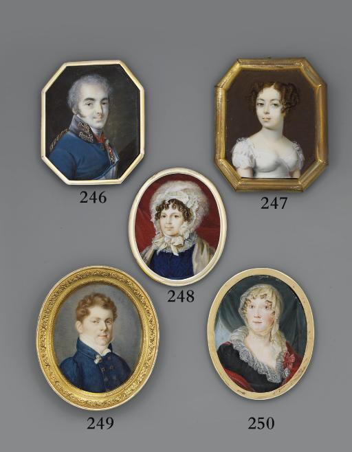 RUSSIAN SCHOOL, CIRCA 1820