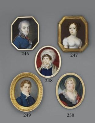 RUSSIAN SCHOOL, CIRCA 1810