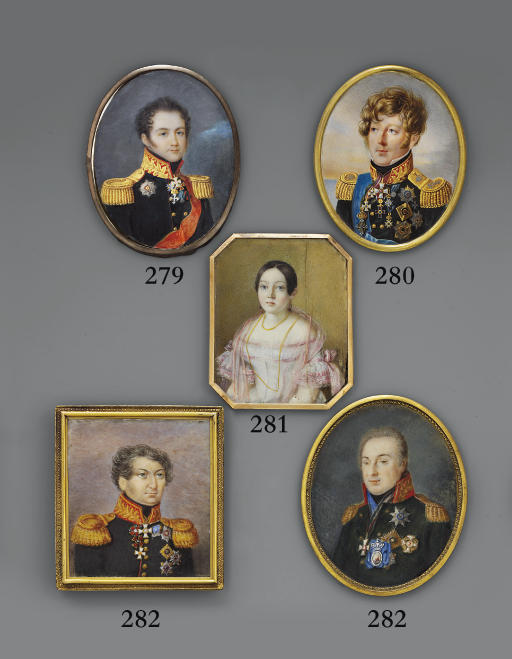 RUSSIAN SCHOOL, CIRCA 1815