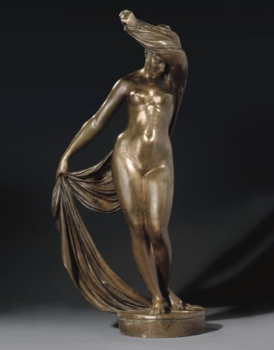 Gilt-bronze figure of Rodopa