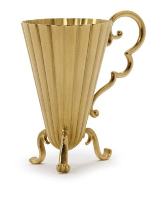 A gold cup