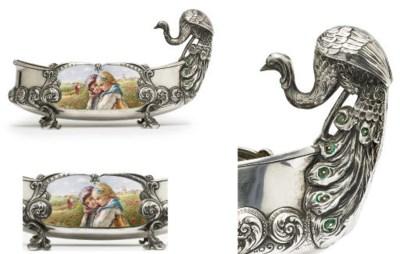 A silver and en plein enamel k