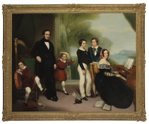 English school, circa 1845
