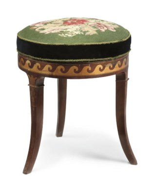 A LOUIS-PHILIPPE MAHOGANY AND