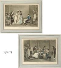 Les Visites; and L'Orange or 'Le moderne jugement de Paris' (Portalis et Béraldi 22)