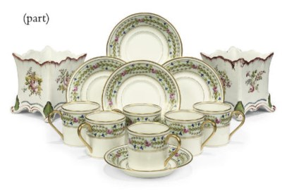 A LIMOGES BREAKFAST SET FOR ON