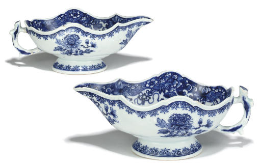 A PAIR OF CHINESE EXPORT SILVE
