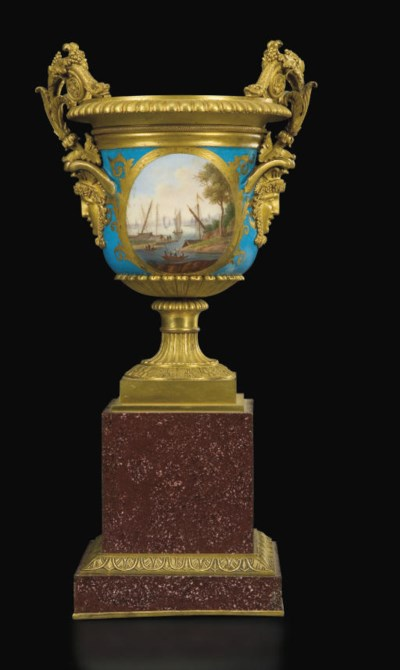 A LOUIS XVIII ORMOLU-MOUNTED P
