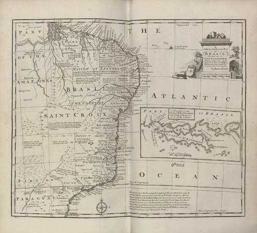 BOWEN, Emanuel (c.1693-1767). A Complete System of Geography. Being a Description of All the Countries, Islands, Cities, Chief Towns, Harbours... of the Known World. London: for William Innys, Richard Ware et al., 1747.