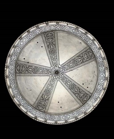 A NORTH ITALIAN ETCHED CIRCULA