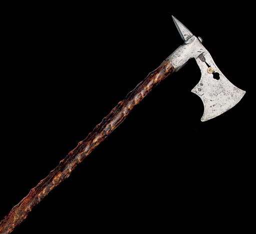 A GERMAN BATTLE-AXE