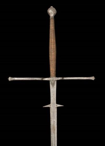 AN ITALIAN TWO-HAND SWORD