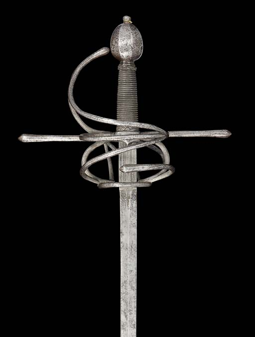 A GERMAN RAPIER IN EARLY 17TH