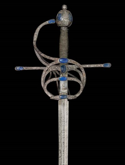 A COMPOSITE RAPIER INLAID WITH