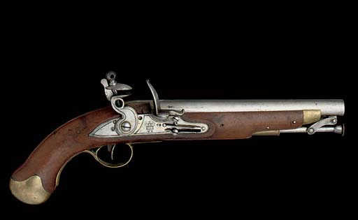 A 28-BORE WILLIAM IV FLINTLOCK