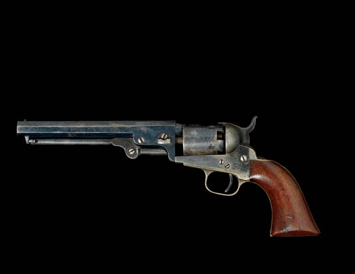 A .31 CALIBRE COLT MODEL 1849