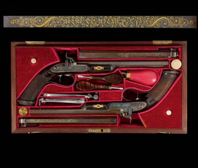 AN EXCEPTIONAL CASED PAIR OF '