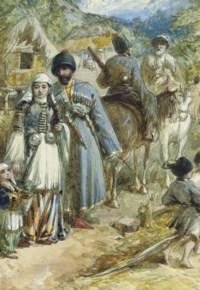Circassia. Teherkess of the Soubash.