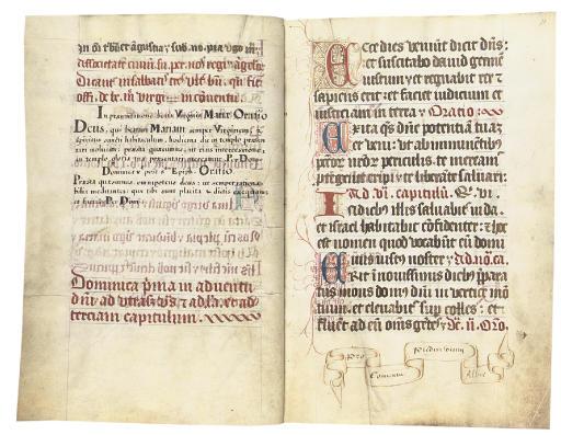 OFFICE BOOK, in Latin, DECORAT