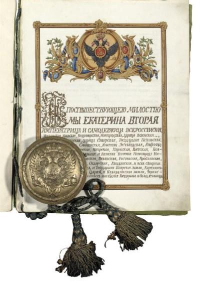 CATHERINE II, the Great (1762-