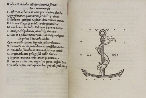 STATIUS.  [Opere.] Venice: Aldus, 1502. 3 parts, including 'Orthographia et Flexus Dictionum Graecarum', in one volume, 8°. Full-page Aldine device on one leaf (some light staining). 19th-century calf ruled in gilt (spine faded, edges gauffered and gilt). Provenance: HENRY WALPOLE and Henry Tolley (armorial bookplates) -- loosely-inserted modern 2-page autograph letter relating to the book's issue points. Adams S-1670; Renouard p.35. First Aldine edition with the second state of the Aldine device.