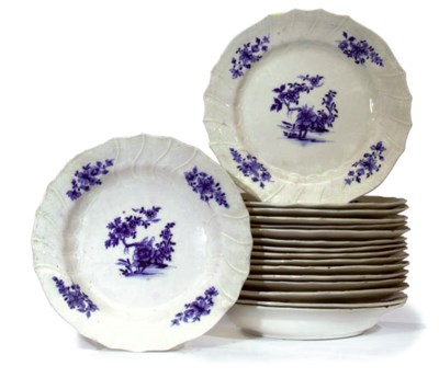 A TOURNAI PART DINNER SERVICE