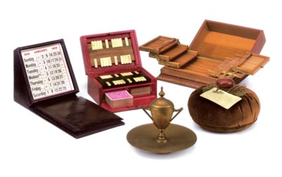 A LATE VICTORIAN CASED SET OF