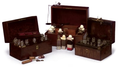 A LATE VICTORIAN APOTHECARY CH