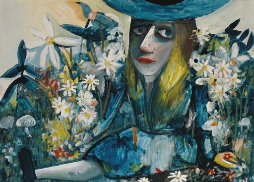 Alice Amongst Flowers