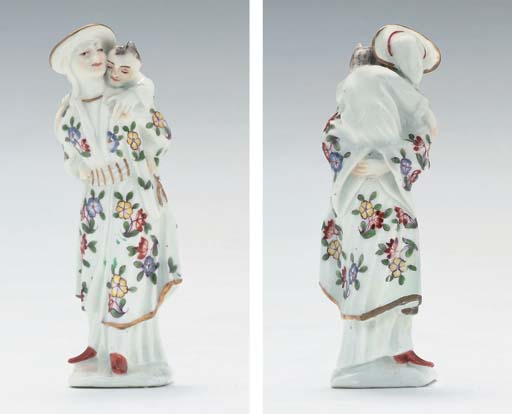 A MEISSEN FIGURE OF A CHINESE