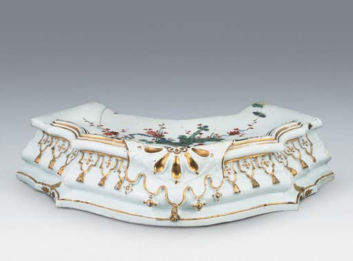 A MEISSEN STAND FROM A TAFELAU