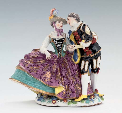 A MEISSEN GROUP OF 'THE SPANIS
