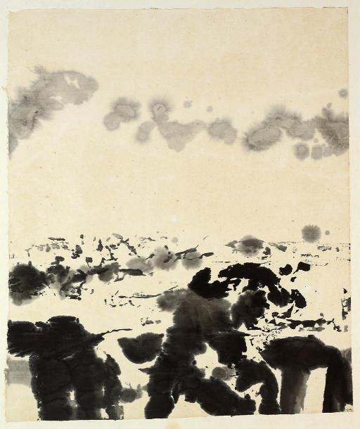 Zao Wou-Ki (b. 1921)