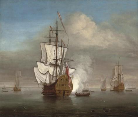 Studio of Willem van de Velde,