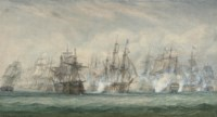 The battle of the Saintes, 12th April 1782