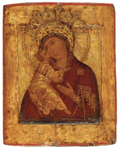 VOLOKOLAMSKAYA MOTHER OF GOD