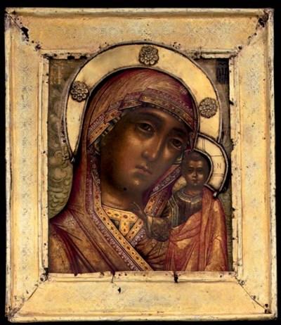 THE MOTHER OF GOD OF KAZAN RUS