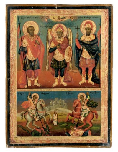 SELECTED MILITARY SAINTS