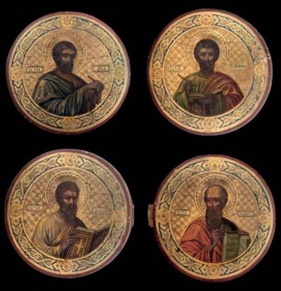 PORTRAITS OF THE EVANGELISTS