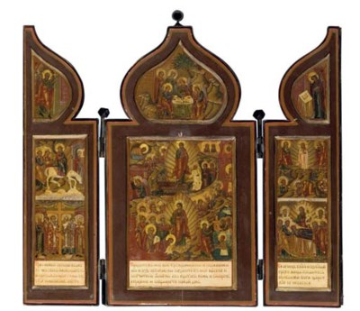 A TRAVELLING TRIPTYCH